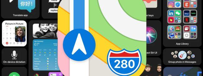 iOS 14, impostare i percorsi ciclabili nelle Mappe