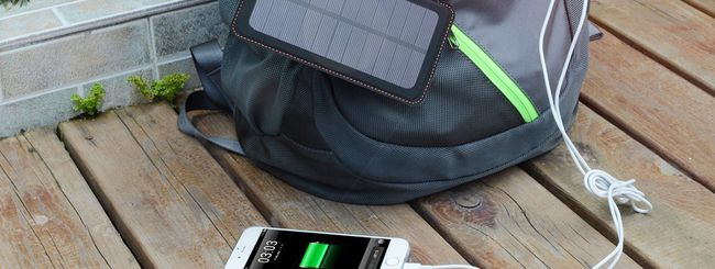 Hiluckey, power bank solare a 3 pannelli su Amazon