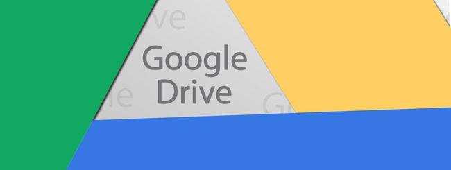 Google Drive: sconti sugli abbonamenti annuali