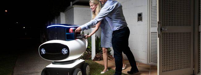 La pizza la consegnerà un robot
