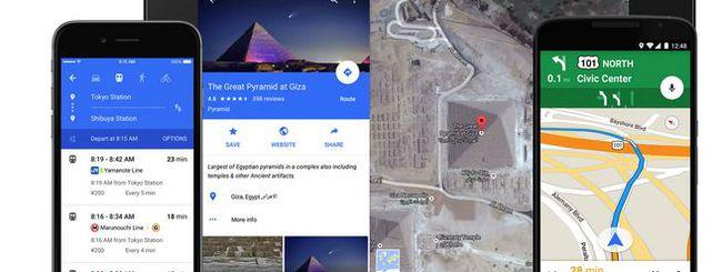 Google Maps permetterà di scegliere lingua e voce