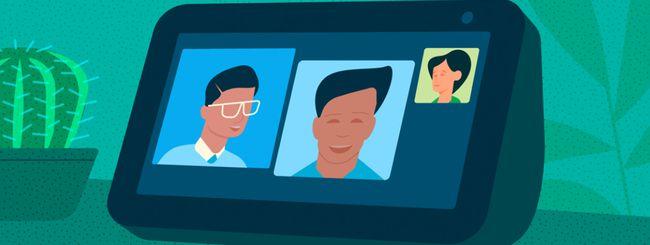 Come fare chiamate o videochiamate di gruppo con Amazon Echo