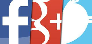 Facebook, Google+, Twitter