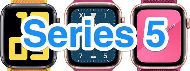 Apple Watch Serie 5, nuovi modelli a inizio settembre