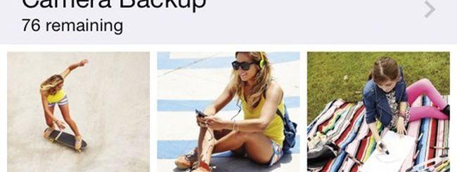 SkyDrive per iOS, upload automatico delle foto