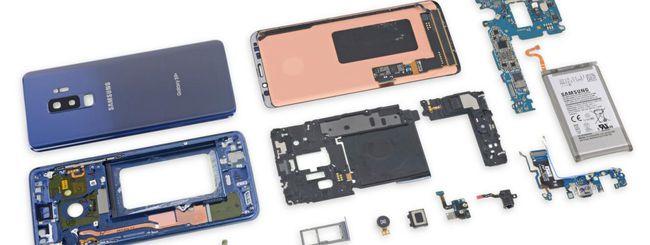 iFixit svela i segreti del Samsung Galaxy S9+