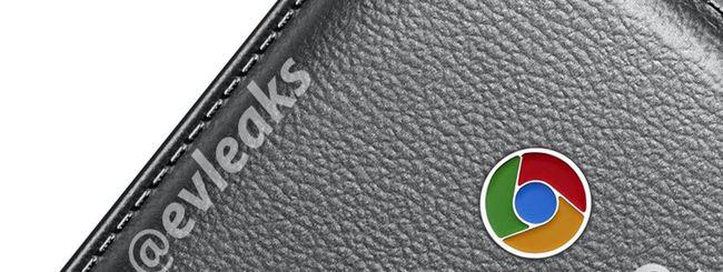 Samsung Chromebook 2 con finitura in eco-pelle