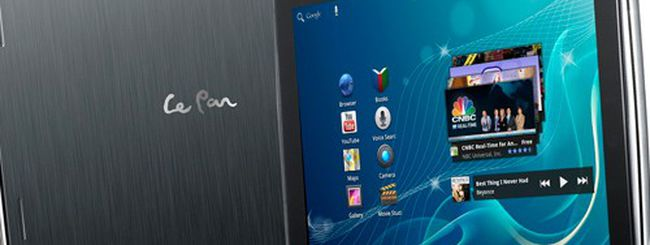 CES 2012: LePan II, tablet Android 3.2 pronto per ICS