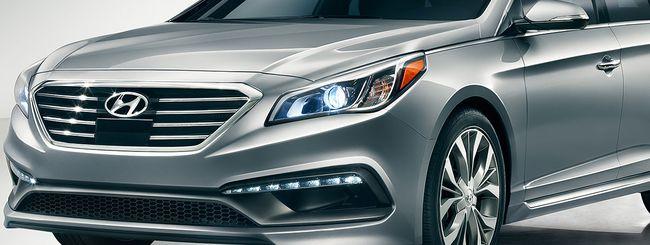 Hyundai Sonata, la prima con Android Auto a bordo