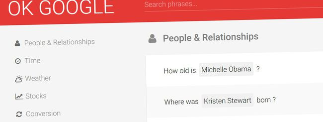 Ok Google: tutti i comandi vocali di Google Now