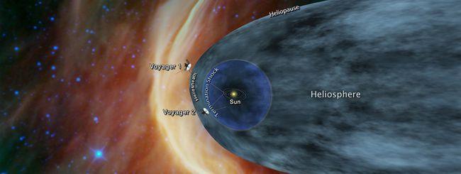 Voyager 2, un tuffo nello spazio interstellare