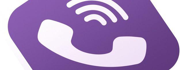 Viber anche su Android, chiamate e SMS gratis