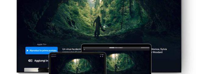 Apple TV+: alta qualità 4K HDR su tutti i video