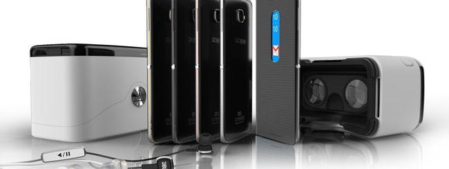 Alcatel Idol 4 e 4S, smartphone Android in metallo