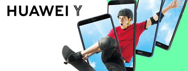 Huawei Y 2018, smartphone per la Generazione Z