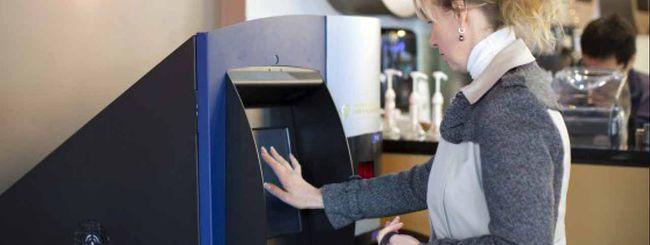 Bitcoin anche dal bancomat