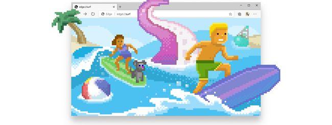 Microsoft Edge ha un minigame da giocare offline