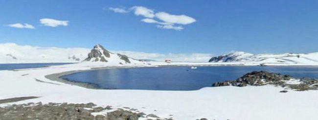 Google Street View, nuove immagini dall'Antartide