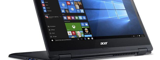 Acer presenta i nuovi prodotti con Windows 10