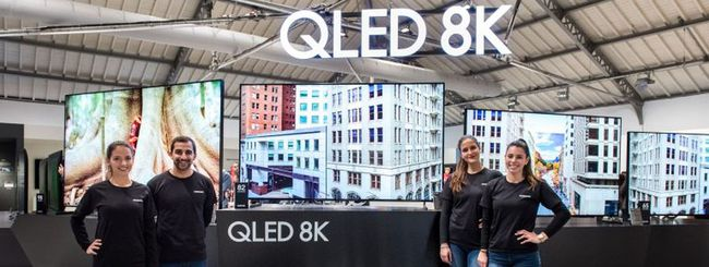 Samsung QLED TV 8K e 4K 2019 disponibili da marzo