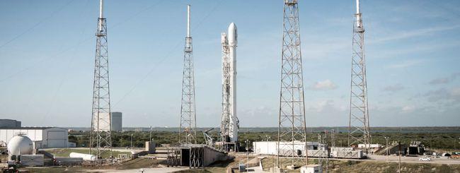 Il razzo Falcon 9 di SpaceX inciampa ed esplode