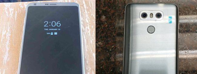 LG G6, doppia fotocamera da 13 megapixel