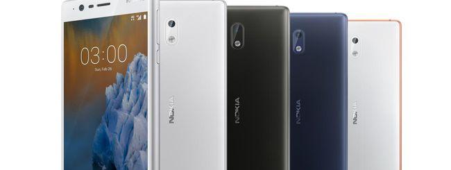 Nokia 3 disponibile in Italia dal 28 giugno