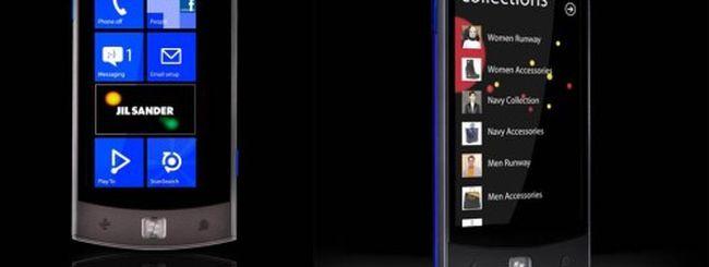 LG E906: Windows Phone disegnato da Jil Sander