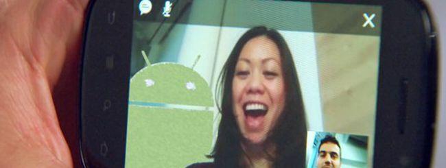 La videochiamata approda su Android