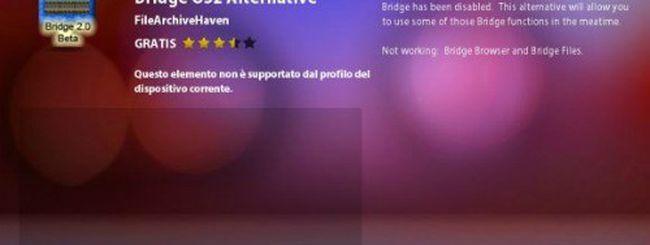 Un BlackBerry Bridge alternativo su BlackBerry App World