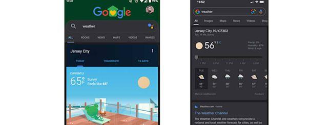 Google, Dark Mode nell'app ricerca: come funziona