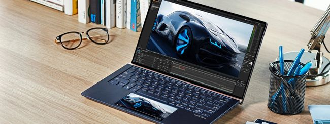 ASUS ZenBook con ScreenPad 2.0 in Italia