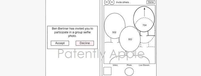 """Apple brevetta i selfie di gruppo """"a distanza"""""""