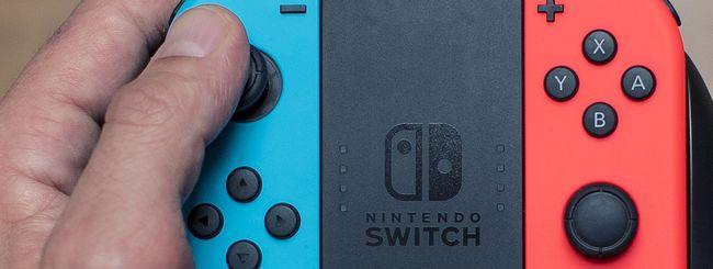 Nuova Nintendo Switch in vendita, anti-pirateria