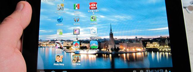 Huawei MediaPad, disponibile Android 4.0 ICS