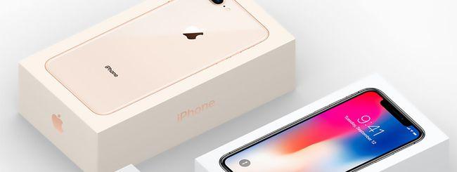 iPhone X: sul sito Apple appare la confezione