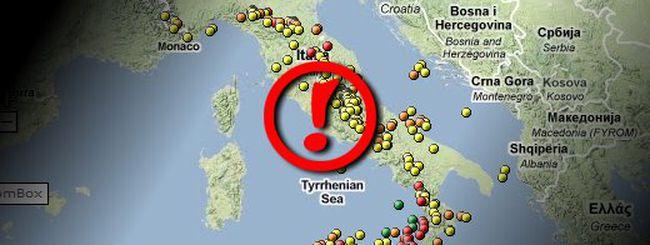 Terremoto a Roma? Guardalo in diretta