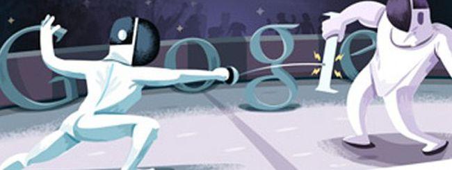 Olimpiadi di Londra 2012, un doodle per la scherma