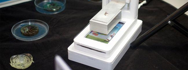 Lo smartphone diventa una stampante 3D