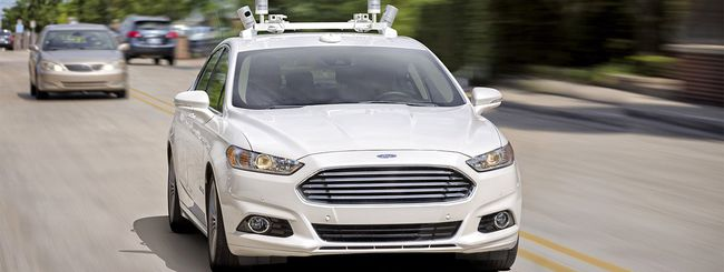 Ford: self-driving car Level 4 in strada nel 2021