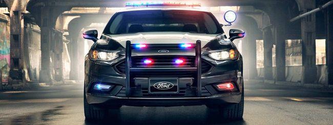 Ford e le future self-driving car per la polizia