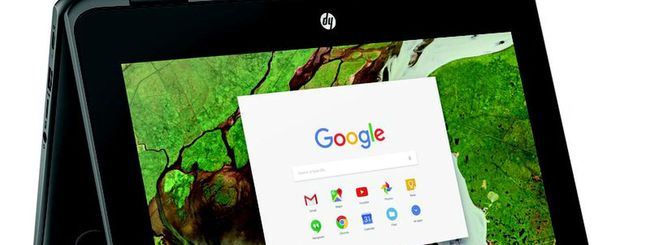 HP Chromebook x360, convertibile rugged