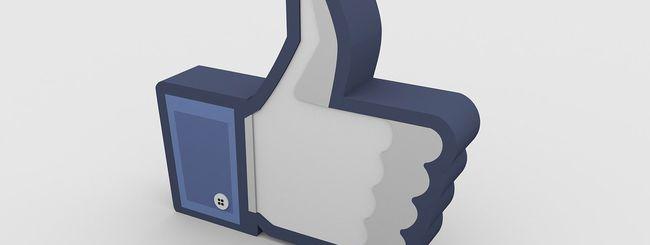 Facebook avvia i test per nascondere i Mi Piace