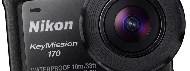 Nikon punta sulle action camera con tre KeyMission