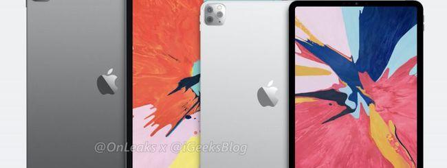 iPad Pro con Fotocamera a 3 lenti: spuntano cover e rendering