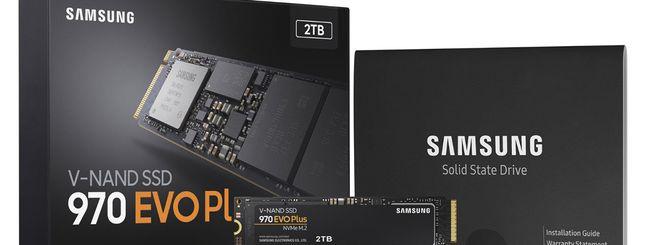 Samsung presenta i nuovi SSD 970 EVO Plus