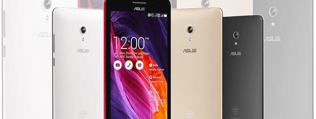 Android 4.4.4 KK arriva su ASUS ZenFone 4, 5 e 6