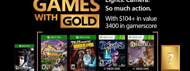 Xbox Live Games With Gold, i giochi di novembre