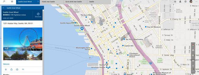 Windows Maps, tutte le novità della build 14291