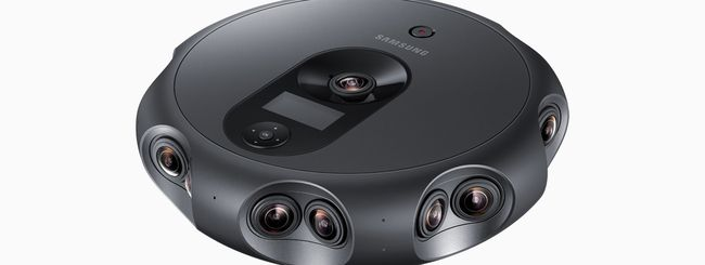 Samsung 360 Round, livestream a 4K e 30 fps